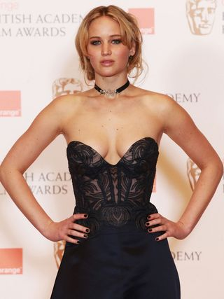 Jennifer Lawrence - Black Dress